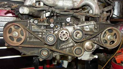 replace  timing belt