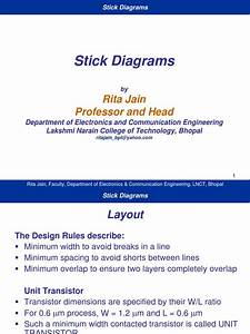 Stick Diagrams And Tutorial