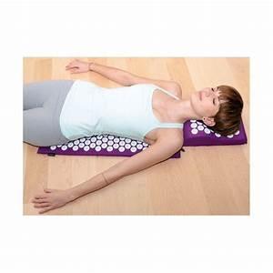 tapis d39acupression bodhimat avec coussin ergonomique With tapis chambre bébé avec acupression tapis