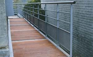 Terrasse Metallique Suspendue : terrasse suspendue en metal belgique ~ Dallasstarsshop.com Idées de Décoration
