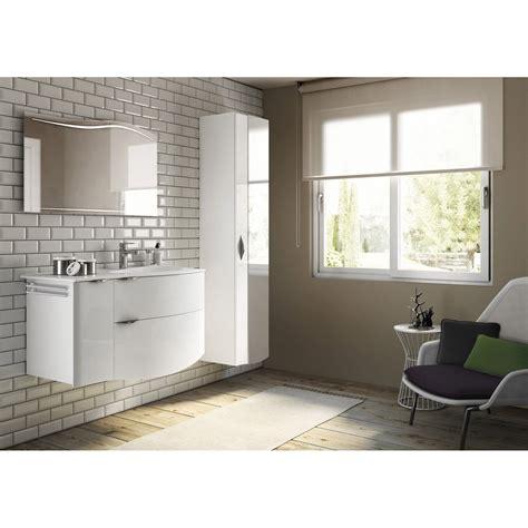 peinture meuble cuisine leroy merlin meuble de salle de bains de 100 à 119 blanc beige