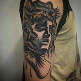 Beautiful Medusa Tattoo | 730 x 730 jpeg 126kB