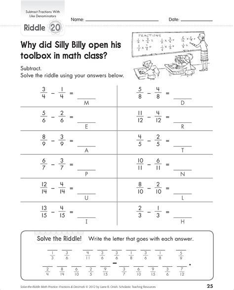 Worksheet Adding Fractions Common Denominators  Worksheet Example