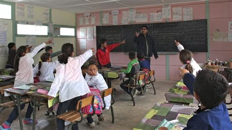 moroccos teachers battle urban rural education divide