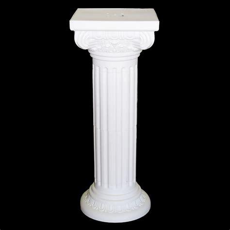 Column Pedestal by Pedestal Plastic Pillars Columns White 36