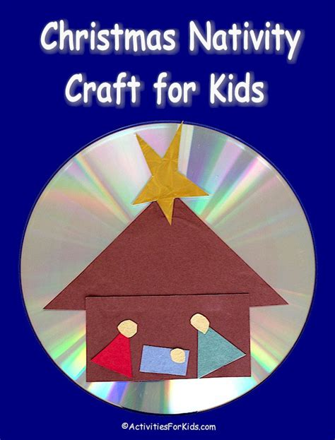shining star christmas nativity craft for kids