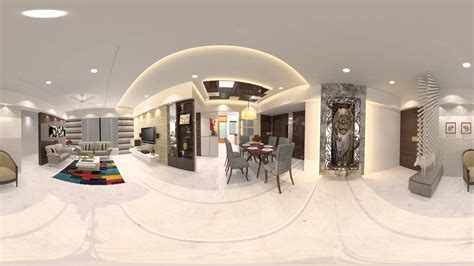 House Interior In 360 Vr
