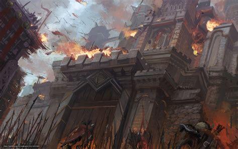 siege fortress wallpaper war siege assault castle free