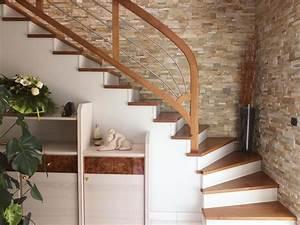 Habillage Escalier Bois : habillage bois 5 ambiance escalier ~ Dode.kayakingforconservation.com Idées de Décoration