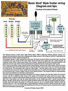 Piezo Pickup Wiring Diagram