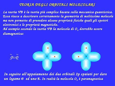 dispense chimica inorganica teoria orbitali molecolari dispense