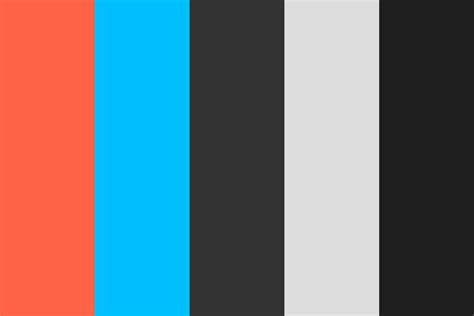 Modern Flat Color Palette