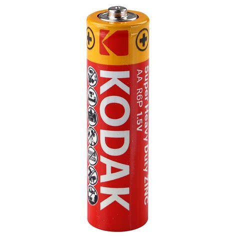 kodak extra heavy duty red batterie aa mignon er pack