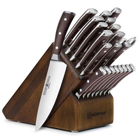 wusthof knife block ikon blackwood kitchen cutlery piece amazon knives sets ultimate handle exclusive