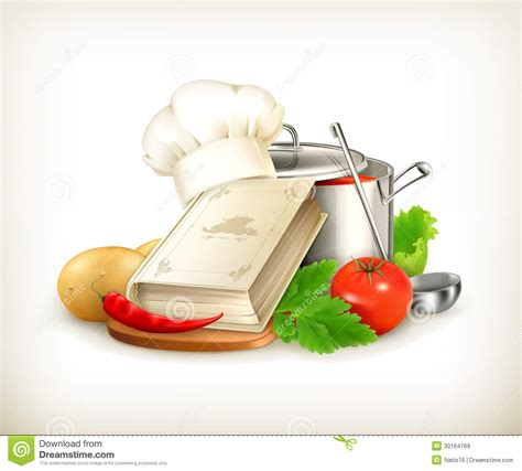 illustration cuisine cooking illustration stock vector image of cookbook