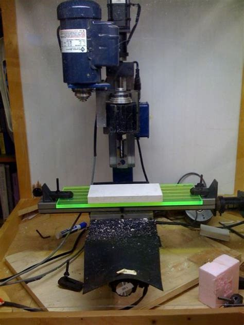 cnc mill  google sketchup pictures