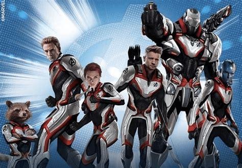 Avengers Endgame Promo Art Showcases The Team New Suits
