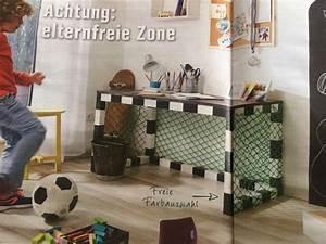 Fussball Deko Kinderzimmer : schreibtisch kinderzimmer fu ball jungs tor ~ Watch28wear.com Haus und Dekorationen