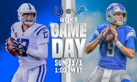 Colts vs. Lions live stream: TV channel, how to watch