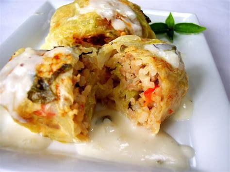 stuffed cabbage italian stuffed cabbage recipe dishmaps