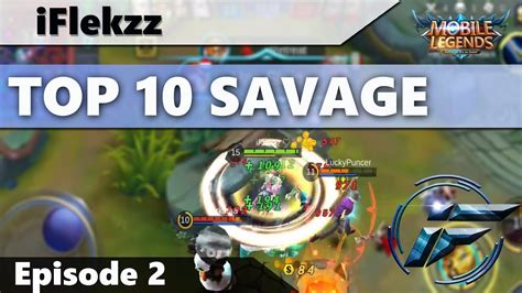 1 Vs 5 Savage Is Easy?! Top 10 Savages #2 Mobile Legends