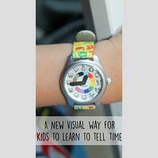 A New Visual Way For Kids To Learn To Tell Time With Madame Irma  In The Playroom