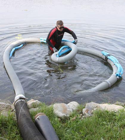 wisconsin lake district  vacuum    invasive