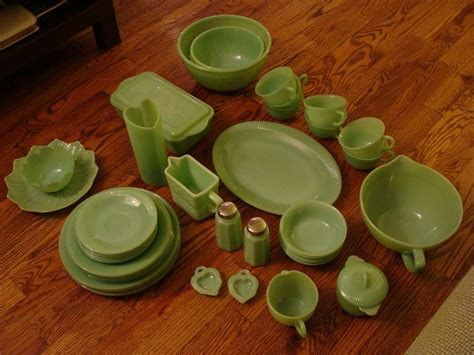 jadeite dishes  vintage kitchen ware fc  kitchens