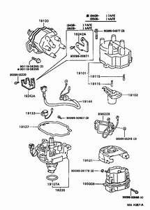 1993 Toyota Corolla Condenser  Distributor  Cvt  Spec