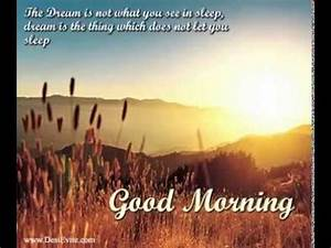 Good Morning E-cards/Wish/Cards/Greeting/picture and quotes - YouTube