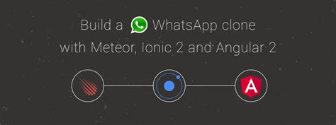 build a whatsapp clone with ionic 2 angular 2 and meteor