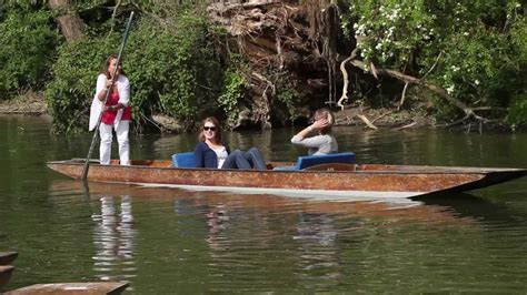 Punt Boat by Cherwell Boathouse Quot How To Punt Quot