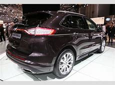 Edge Vignale Looking To Class Up Ford's SUV Lineup Carscoops