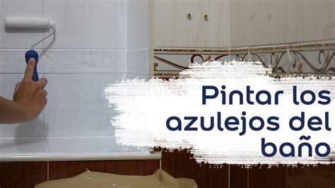 video tutorial como pintar los azulejos del bano