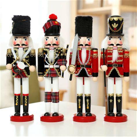 handmade home decoration soldiers walnut christmas