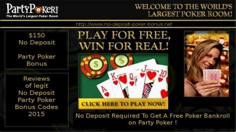30 free Play New Player Bonus partypoker