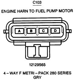 Precision Fuel Wiring Diagram Ford Ranger by I Bought A Fuel For 1999 Suburban The New Harness