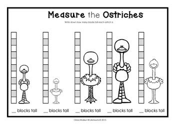 measurement worksheets kindergarten non standard non standard measurement length worksheets for kindergarten grade one