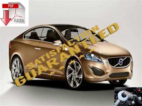 Volvo S60 Repair Manual by Volvo S60 2001 2009 Repair Manual