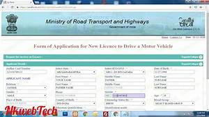 how to apply for driving licence learning licence online With apply for driving license learning