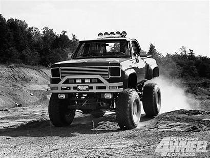 Truck Trucks Chevy Lift Suspension Lifted Wallpapers