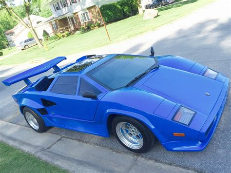 1988 lambo countach replica built by illusions for sale