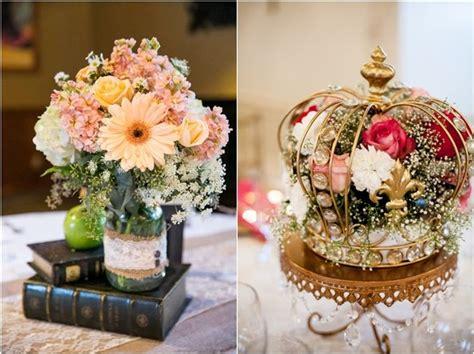 vintage wedding centerpiece ideas   deer pearl