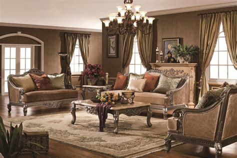 the verona formal living room collection in antique silver