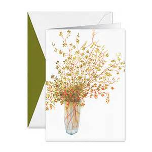 vera wang wedding invitations pepperberries in vase boxed greeting cards