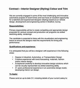 interior design contract template 10 download free With interior decorating contract