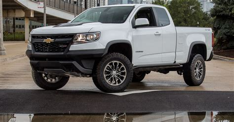Chevrolet Colorado Zr2 Is Off-road Beast