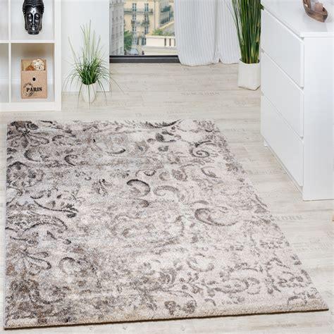 teppich wohnzimmer beige teppich floral muster beige creme teppich de