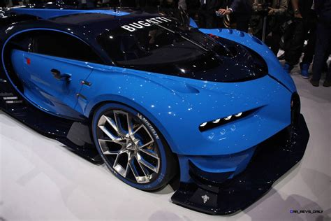 Bugatti gran turismo concept hints design lanuguage for chiron. 2015 Bugatti Vision Gran Turismo Colors