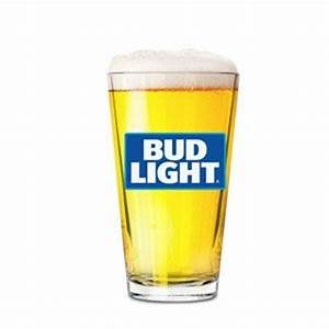 Bud Light Pint Glass New 2016 Edition Beer